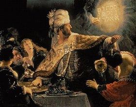 Rembrandt van Rijn: Das Gastmahl des Belsazar