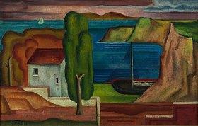 Franz Monjau: Südliche Landschaft