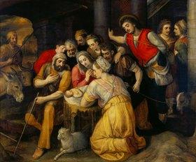 Frans Floris de Vriendt: Die Anbetung der Hirten