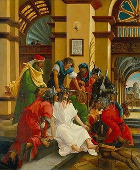 Albrecht Altdorfer: Passions/Sebastians-Altar in St.Florian Dornenkrönung Christi