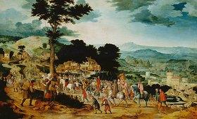 Cornelis Massys: Der Gang nach Golgatha