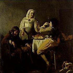 Jacob Ochtervelt: Der Trinkspruch
