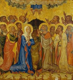 Meister des Altars von Hohenfurth: Die Himmelfahrt Christi