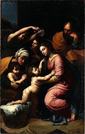 Raffael (Raffaello Sanzio): Die Große Heilige Familie. Nach 1656(?)