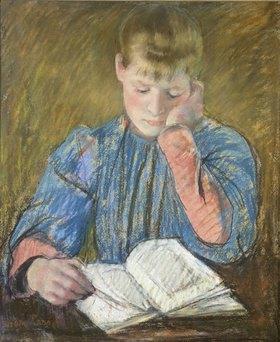 Mary Cassatt: Lesendes Mädchen