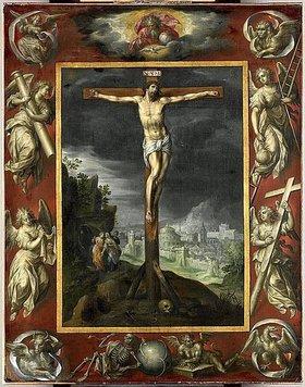 Hendrick de Clerck: Christus am Kreuz. 1710er Jahre