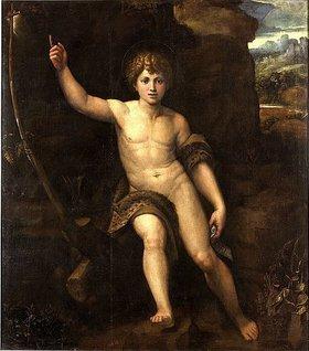 Raffael (Raffaello Sanzio): Der jugendliche Johannes der Täufer in der Wüste