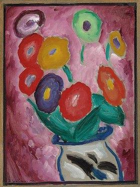 Alexej von Jawlensky: Blumenstilleben