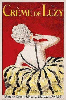Leonetto Cappiello: 'Crème de Luzy'. 1919. Gedruckt von Devambez, Paris