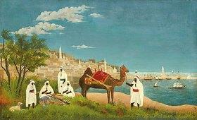 Henri Rousseau: Landschaft um Algier (Paysage d'Alger)