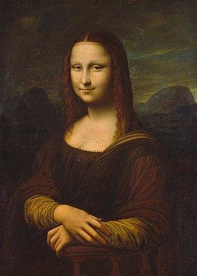 Anonym: Mona Lisa. (Kopie, Ende 19. Jh.)