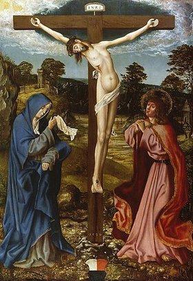 Hans Mielich: Kreuzigung Christi