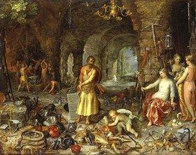 Jan Brueghel d.Ä.: Die Weissagung des Propheten Jesaia. (Zusammen mit Hendrick van Balen)