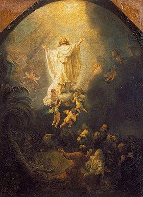 Rembrandt van Rijn: Die Himmelfahrt Christi