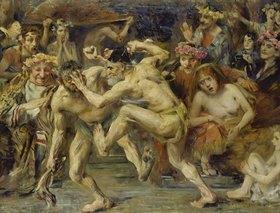 Lovis Corinth: Odysseus im Kampf mit dem Bettler