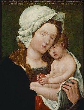 Albrecht Altdorfer: Maria mit dem Kind