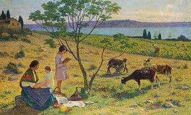 Henri Martin: Auf dem Land (Bucolique)