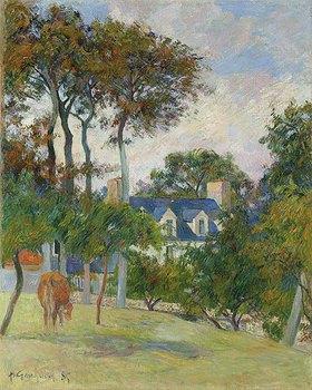 Paul Gauguin: Das weiße Haus (La maison blache)