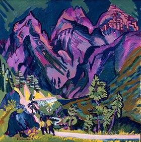 Ernst Ludwig Kirchner: Sertigberge