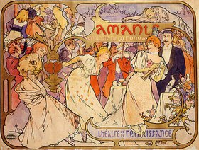 Alfons Mucha: Amants