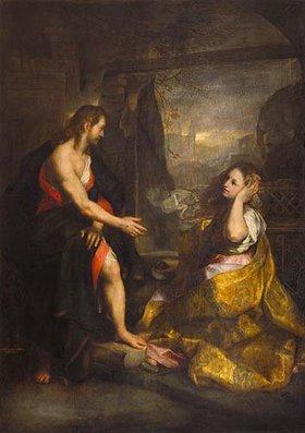 Federigo Barocci: Christus und Magdalena (Noli me tangere)