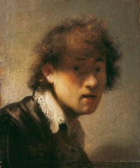 Rembrandt van Rijn: Jugendliches Selbstbildnis