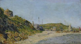 Paul Signac: Fischerdorf am Meeresstrand