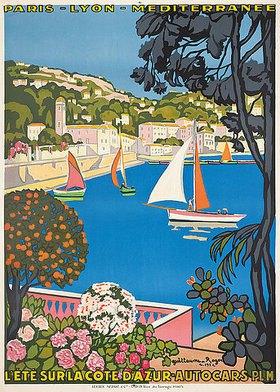 Guillaume G. Roger: Sommer an der Côte d'Azur (L'été sur la Côte d'Azur)