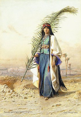 Carl Haag: Fadimeh, die Tochter von Aghile Agha