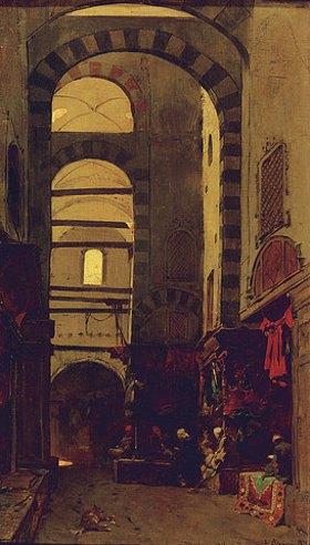 Alberto Pasini: Ein ruhiger Nachmittag im Basar