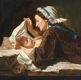 Peter Fendi: Mutter und Kind
