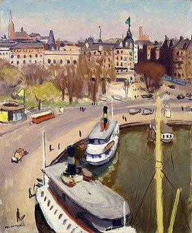 Albert Marquet: Der Hafen von Stockholm