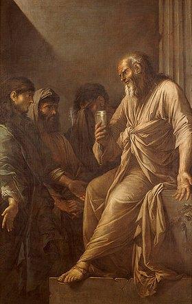 Salvator Rosa: Der Tod Sokrates