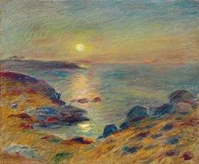 Auguste Renoir: Sonnenuntergang in Douarnenez