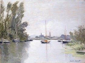 Claude Monet: Argenteuil, von einem kleinen Arm der Seine aus gesehen (Argenteuil, vue du Petit Bras de la Seine)