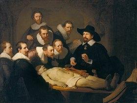 Rembrandt van Rijn: Die Anatomiestunde des Dr. Nicolaes Tulp