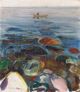 Edvard Munch: Robat pa sjøen
