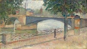 Edvard Munch: Ansicht der Seine, Saint-Cloud