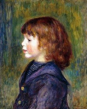 Auguste Renoir: Porträt von Pierre Renoir in einem Matrosenanzug (Portrait de Pierre Renoir en Costume Marin)