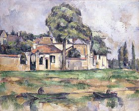 Paul Cézanne: Am Ufer der Marne (Bords de la Marne)