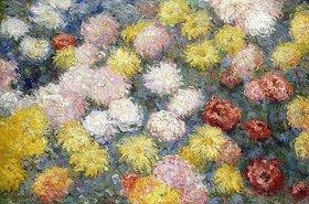 Claude Monet: Chrysanthemen (Chrysanthèmes)