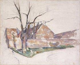 Paul Cézanne: Landschaft im Winter (Paysage d'Hiver)
