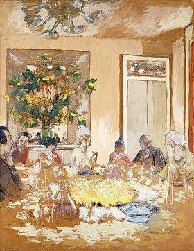 Edouard Vuillard: Das Speisezimmer im Chateau Clayes (La Salle à Manger au Château de Clayes)