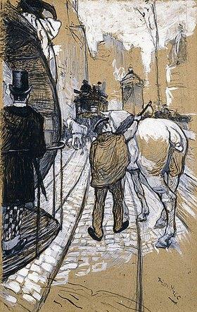 Henri de Toulouse-Lautrec: Der Kutscher (Le Cocher de la Compagnie des Omnibus)