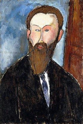 Amadeo Modigliani: Portrait des Fotografen Dilewski (Portrait du Photograph Dilewski)