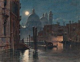 Carl Friedrich Heinrich Werner: Venedig bei Mondlicht