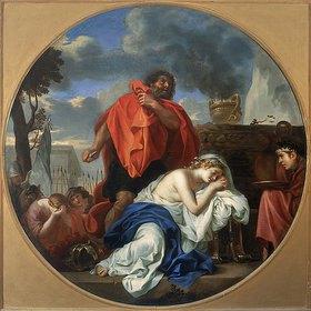 Charles Le Brun: Jiftachs Gelübde, seine Tochter zu opfern