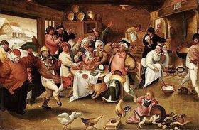 Maerten van Cleve: Der König trinkt. 16. Jh