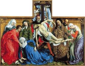 Rogier van der Weyden: Kreuzabnahme