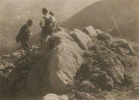 Heinrich Kühn: Ohne Titel (Im Gebirge)
